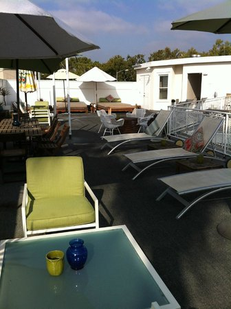 Hotel Beverly Terrace: Rooftop area