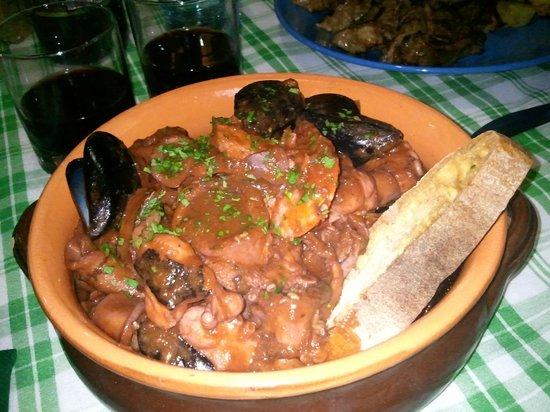 Osteria dai Toscanacci: caciucco