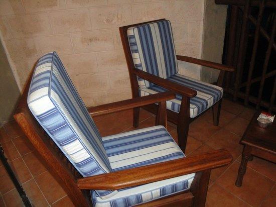 Baobab Beach Resort & Spa: fauteuil de terrasse