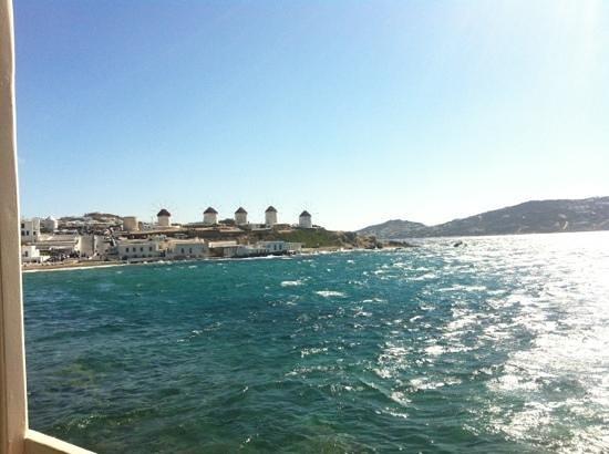 Kastro Bar Mykonos: the view