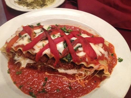 Gondola Italian Restaurant: vegetable lasagna - eggplant parm on steroids!!!