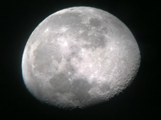 Space Star Tours: actual photo taken through telescope!!!!