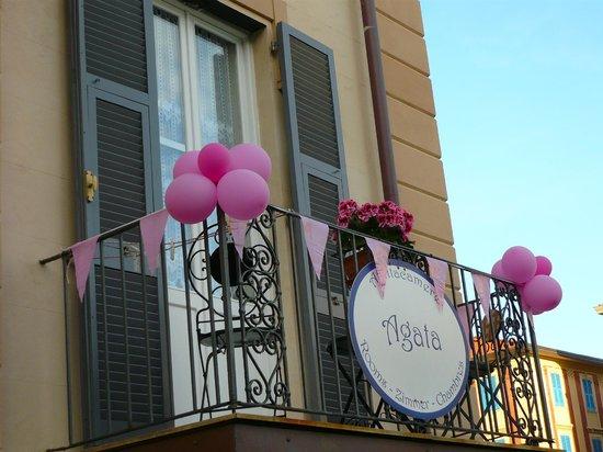 Affittacamere Agata: Balcone