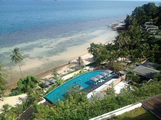 Conrad Koh Samui Residences: View from breakfast area