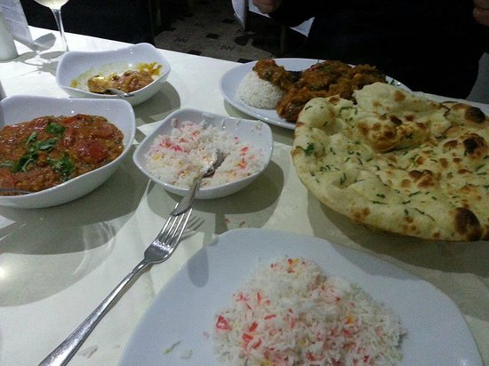 Shapla Indian Restaurant: gorgeous food