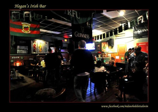 Hogan's Irish Bar: St. Paddys Day 2013