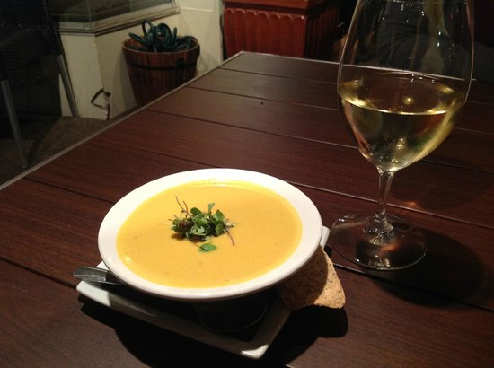 Olive Market Place & Cafe : Olive Marketplace and Cafe - Coconut Butternut Squash soup