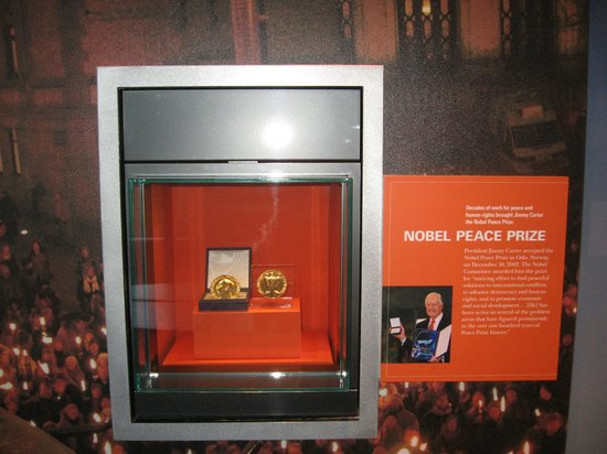 Carter Center : Carter's Nobel Peace Prize