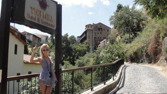 The Mill Hotel: путь  к отелю)