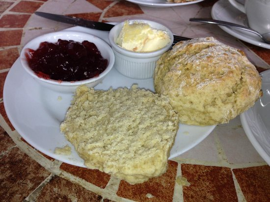 The Claremont Hotel: Cream tea