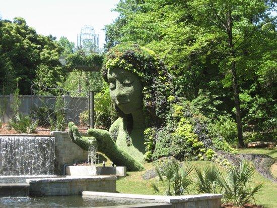 Floral Statue, Atlanta Botanical Garden