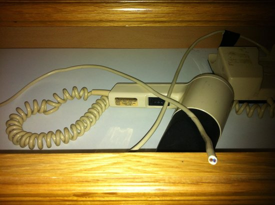 Garden Lodge Hotel: Hair dryer. Available for electricians only.