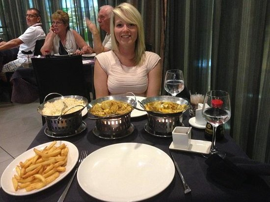 Overseas Asian Restaurant : meal