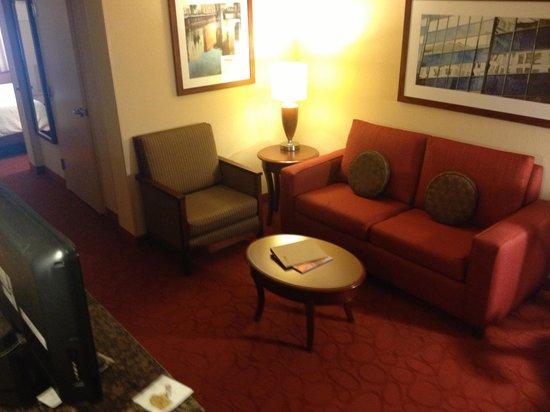 Hilton Garden Inn Milwaukee Airport: Suite entry room