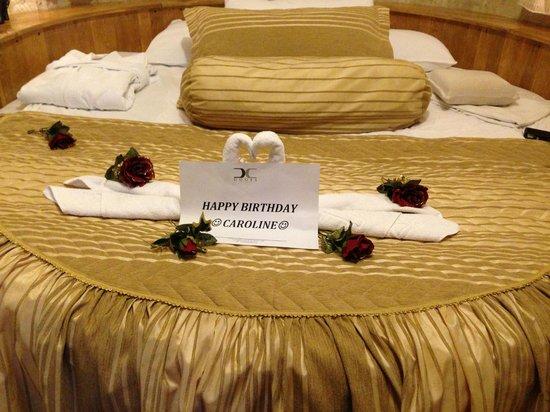 Doors Of Cappadocia Hotel: birthday wishes