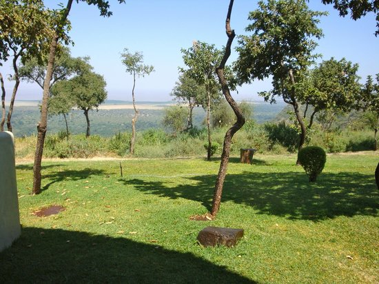 Lake Manyara Serena Lodge: View from Patio