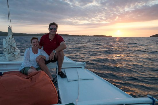 The Havannah, Vanuatu: sunset cruise