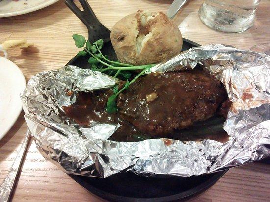 Tsubame Grill, Lumine Ikebukuro: 12.10.28【つばめグリル池袋】ハンバーグ
