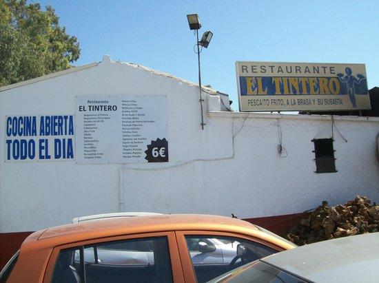 El Tintero II: esterno del ristorante