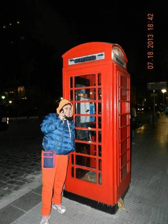 Telefone londrino em Recoleta