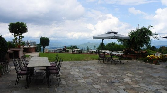 Himalayan Horizon : In the courtyard