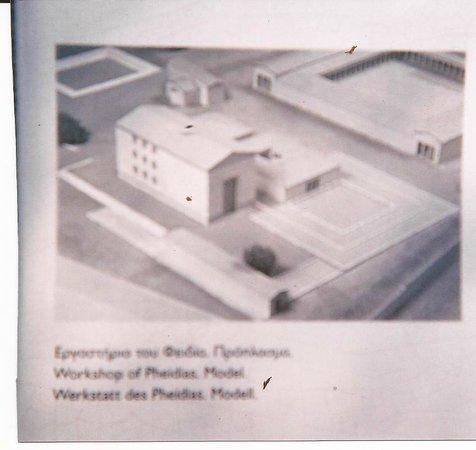 แองเชี่ยน โอลิมเปีย (อาร์ไชย่า โอลิมเปีย): la maquette de l'atelier