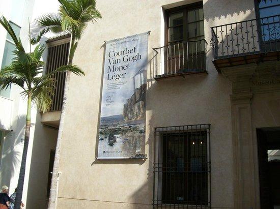 Museo Carmen Thyssen Malaga: locandina museo