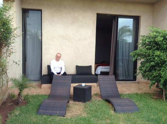 Sirayane Boutique Hotel & Spa: Our private garden outside our room