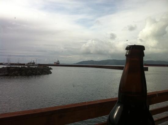 Rogue Ales Public House: love the views! :)