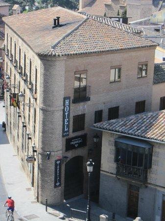 Imperial Hotel Toledo: Edificio del hotel.