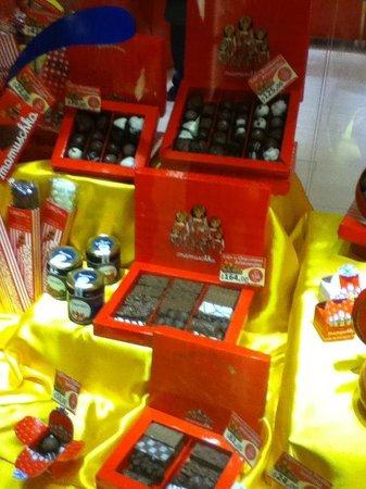 Recoleta: Chocolates Mamuschka