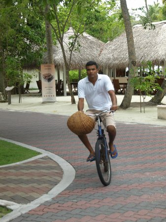 Sun Island Resort and Spa: cycling on the island