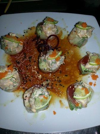 Menu picture of koi sushi cabo san lucas tripadvisor for Koi sushi aix