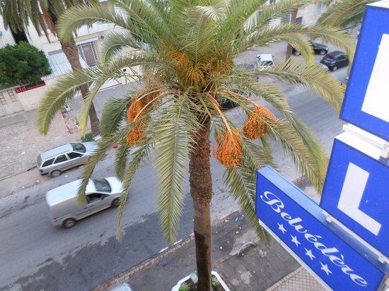 Hotel Belvédère Fourati : Vue de ma fenêtre