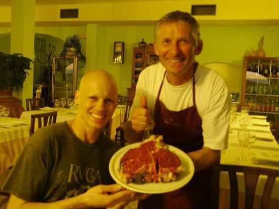 Poggio alla Croce, Italy: Patrick and our host