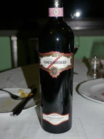 Poggio alla Croce, Italy: Great wine