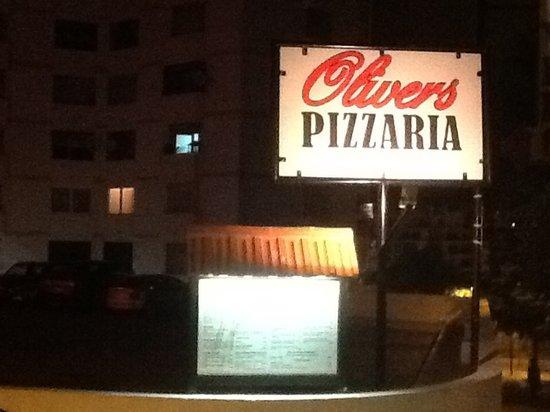 Oliver's Praia da Rocha : Menu+publicidade