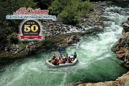 All-Outdoors California Whitewater Rafting - Day Trips: All-Outdoors California Whitewater Rafting