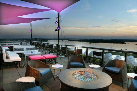 Photo of American Restaurant Twilight Sky Terrace at 79 Madison Ave., Memphis, TN 38103, United States