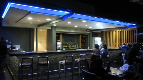 Skybar: all lit up