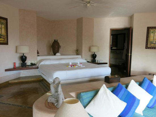 Villa Carolina Hotel : Bedroom