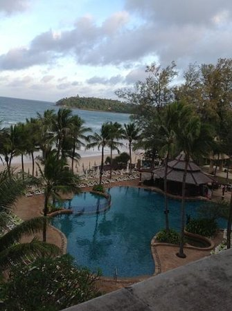 Kata Beach Resort and Spa: View from room 2443