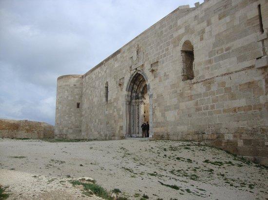 Siracusa - Castello Maniace (portale d'accesso)