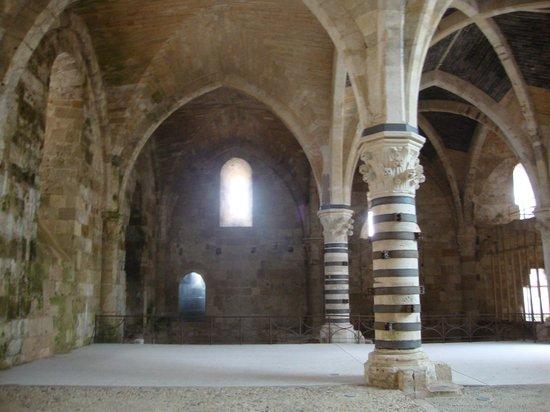 Maniace Castle : Siracusa - Castello Maniace (sala ipostila)