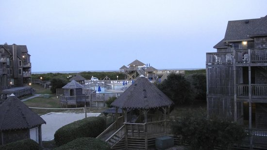 Barrier Island Station - Duck : View from deck