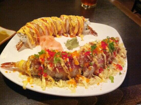 Sakura japanese steak house and sushi bar cedar falls for Aloha asian cuisine sushi