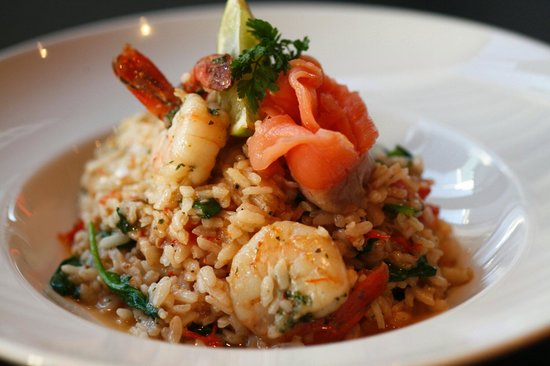 The Groove Train: King Prawn and Calamari Risotto