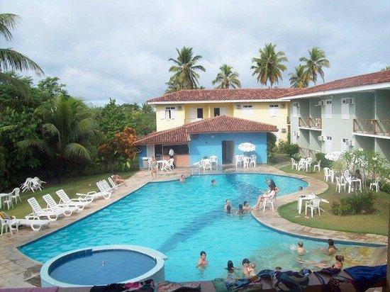 Boulevard da Praia Hotel : piscina do hotel tirada de perto da lanchonete