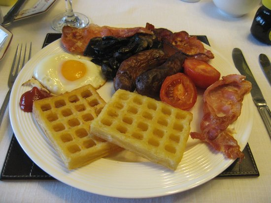 Cleers View Farm: Delicious and filling breakfast