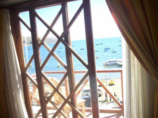 Hotel Estelar del Titicaca: Vista desde la habitación